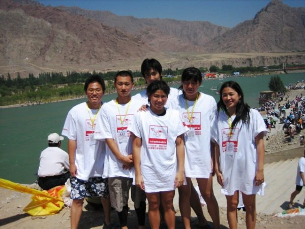 13.Beijing Sport Univ's Team (Open Water Swimming 2006 @Qinghai,Tibet China) - Copy