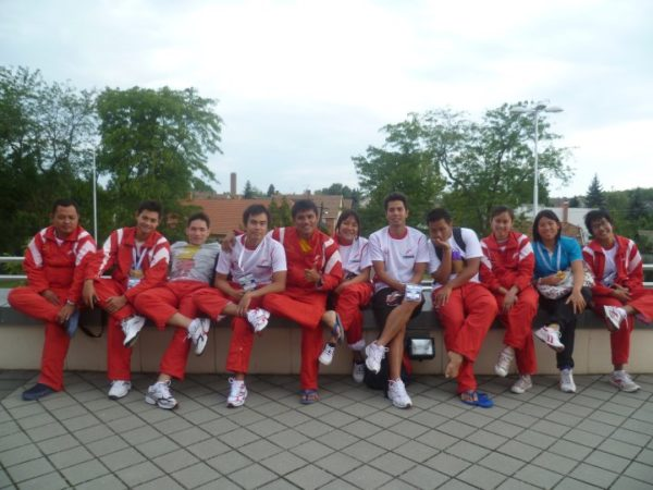 42.INA Team in World Champs 2011 @Hungary