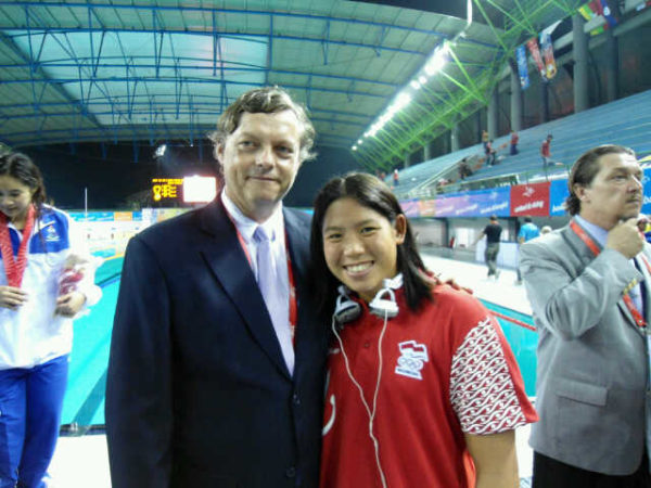 60.with President of CMAS in SEA Games'11 @Palembang